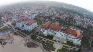 Grand Hotel and Sheraton in Sopot