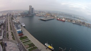 Gdynia - Sea Towers in Background